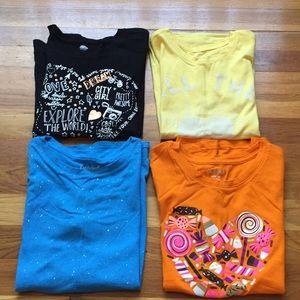 4 girls T-shirt's